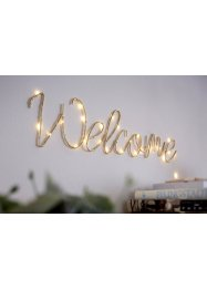 Led-decoratie «Welcome», bpc living