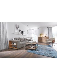 Transparant vouwgordijn met print, bpc living bonprix collection