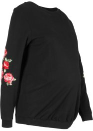 Zwangerschaps sweater met bloemendetail, bpc bonprix collection