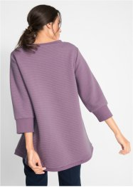 Geribde sweater, 3/4 mouw, bpc bonprix collection