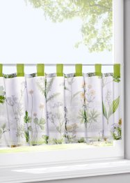 Glasgordijn «Botanisch», bpc living bonprix collection