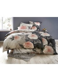 Dekbedovertrek met bloemendessin, bpc living bonprix collection