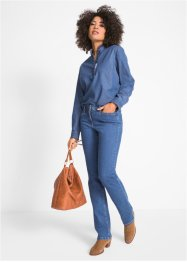 Corrigerende stretch jeans, straight, John Baner JEANSWEAR
