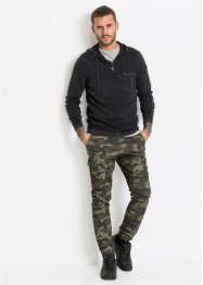 Slim fit cargo broek, straight, RAINBOW