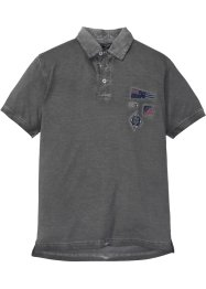 Poloshirt in washed out look, bpc selection
