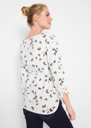 Zwangerschapsblouse met striklintjes, bpc bonprix collection