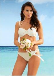 witte bikini bandeau