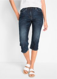 Capri jeans in used look, bpc bonprix collection