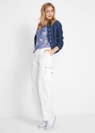 Loose fit cargo broek met comfortband, bpc bonprix collection
