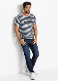 Slim fit Premium stretch jeans met T-400, straight, John Baner JEANSWEAR