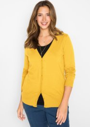 Basic vest met knoopsluiting, bpc bonprix collection