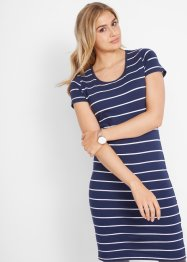 Stretch jersey jurk, korte mouw, bpc bonprix collection