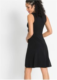 Jersey jurk met applicatie, BODYFLIRT
