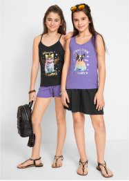 Tops+short+rok (4-dlg. set), bpc bonprix collection