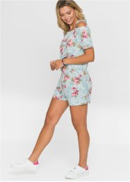 Playsuit met bloemenprint, RAINBOW
