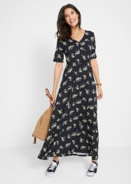 Gedessineerde maxi jurk, bpc bonprix collection