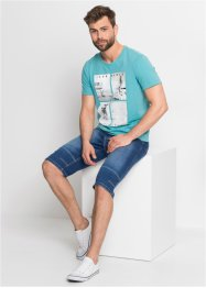 Stretch jeans bermuda met comfort belly fit, bpc bonprix collection