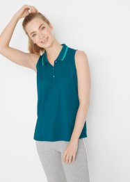Sporttop met polokraag, bpc bonprix collection