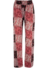 Gedessineerde jersey broek met printmix, bpc bonprix collection