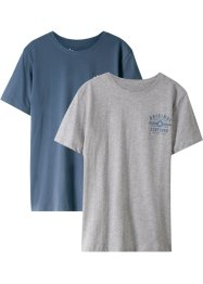 T-shirt (set van 2), bpc bonprix collection
