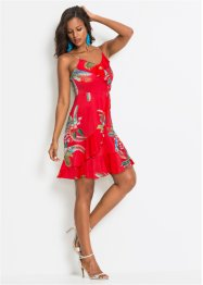 Jurk met volants en bloemenprint, BODYFLIRT boutique