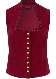 Tiroler gilet met opstaande kraag, bpc bonprix collection