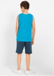 T-shirt, tanktop en bermuda's (4-dlg. set), bpc bonprix collection