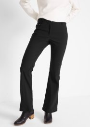 Afslankende stretch broek, flared, bpc bonprix collection