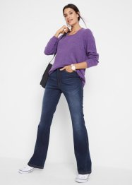 Flared jeans met comfortband, bpc bonprix collection