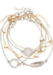 Armbanden (5-dlg. set), bpc bonprix collection