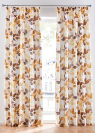 Gordijn met bladerprint (1 stuk), bpc living bonprix collection