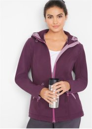 Softshell jas met capuchon, bpc bonprix collection