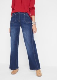 Stretch jeans met comfortband, wide, bpc bonprix collection