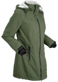 Lange outdoor jas met teddyfleece, bpc bonprix collection