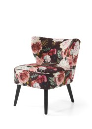 Fauteuil met rozenprint, bpc living bonprix collection
