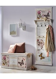 Kapstokpaneel met vlinderdessin, bpc living bonprix collection