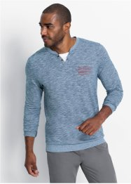 Henley shirt met comfort belly fit, bpc bonprix collection