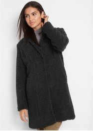 Korte coat van teddy, bpc bonprix collection