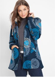 Gedessineerde parka met capuchon, bpc bonprix collection