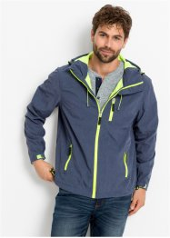 Softshell jas met contrasten, bpc bonprix collection