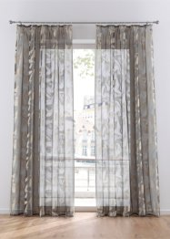 Transparant gordijn van jacquard (1 stuk), bpc living bonprix collection