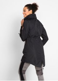 Outdoor jas met capuchon in layerlook, bpc bonprix collection