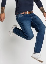 Power stretch jeans, classic fit tapered, John Baner JEANSWEAR
