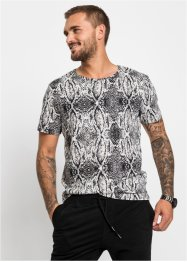 Shirt met print all-over, slim fit, RAINBOW