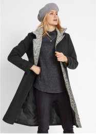 Korte coat met asymmetrische ritssluiting, bpc bonprix collection