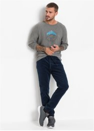 Regular fit corduroy instapbroek, straight, RAINBOW
