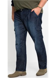 Cargo jeans, regular fit straight, John Baner JEANSWEAR