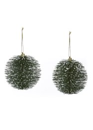 Kerstbal (set van 2), bpc living bonprix collection