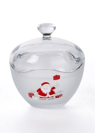 Glazen pot met Santa, bpc living bonprix collection