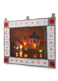 Adventskalender met led, bpc living bonprix collection